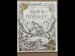 Myth Magic An Enchanted Fantasy Coloring Book By Kinuko Y