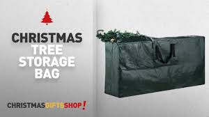 Large Upright Christmas Tree Storage Bag by Most Popular Christmas Tree Storage Bag Elf Stor Premium Green