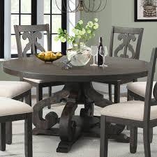 Stone 60 Round Table In Dark Ash