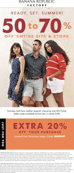 Banana Republic Factory Coupons - 70-90% Off Everything Sales Tax Holiday Coupons Bana Republic Factory Outlet 10 Off Republic Outlet Canada Coupon 100 Pregnancy Test Shop For Contemporary Clothing Women Men Money Saver Up To 70 Fox2nowcom Code Bogo Entire Site 20 Off Party City Couons 50 Coupons Promo Discount Codes Gap Factory Email Sign Up Online Sale Banarepublicfactory Hashtag On Twitter Extra 15 The Krazy Free Shipping Codes October Cheap Hotels In Denton Tx