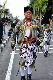 Abdi Dalem A Follower Of Sultan In Keraton Yogyakarta Stock Photo