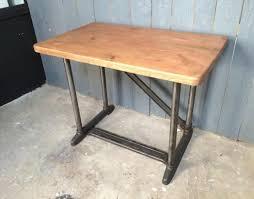bureau industriel metal bois bureau mobilier industriel produits style industriel et vintage