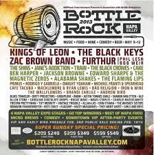 Bottle Rock Festival 5 9 To 12 Napa Valley CA Elmore Magazine