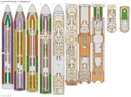 carnival paradise deck plans diagrams pictures video