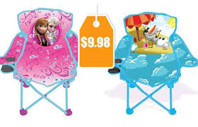 disney frozen fold n go chair 9 98 reg 19 98 living rich with