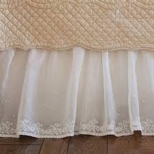 Daisy Dot Cream Bed Skirt [2208CDAIS T] $0 00 The Painted