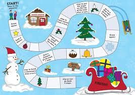Christmas Board Game Eyfs Ks1