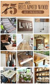 There Are More Like Ideas Here With The Linkies GREAT Post For DIY Reclaimed Wood Projects All In One Clipboard Curated From Featured On Funky