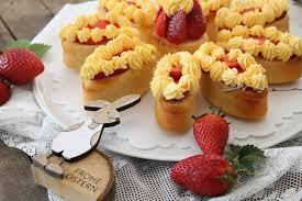 erdbeer vanille blume cuplovecake