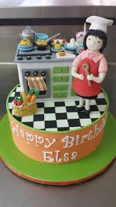Kitchen Theme Ideas Chef by 85 Best Kitchen Theme Cakes Images On Pinterest Cakes Theme