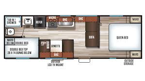 Travel Trailer Floor Plans With Bunk Beds by Grey Wolf Rv New U0026 Used Rvs For Sale All Floorplans