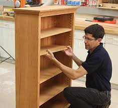 Pdf Woodwork Woodworking Diy Bookcase Plans With Five Shelves Plus A Man Finishing The His Job