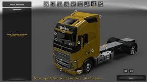 100 Truck Tandems BDF Tandem Pack V630 124 Mod For ETS 2