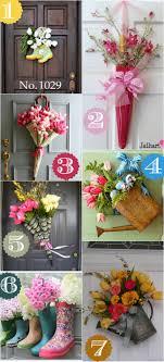 Springtime Decorating Ideas Conversant Images On Spring Door Decor Jpg