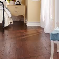 Engineered Hardwood Floor Impressions Tradition Dark Leather Bedroom