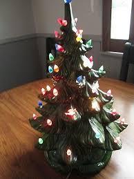 Vintage Atlantic Mold Ceramic Christmas Tree by Ceramic Christmas Tree Collection On Ebay