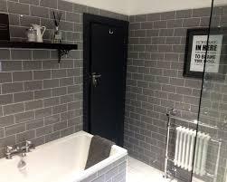 edward s stylish grey bathroom metro tiles loft extensions
