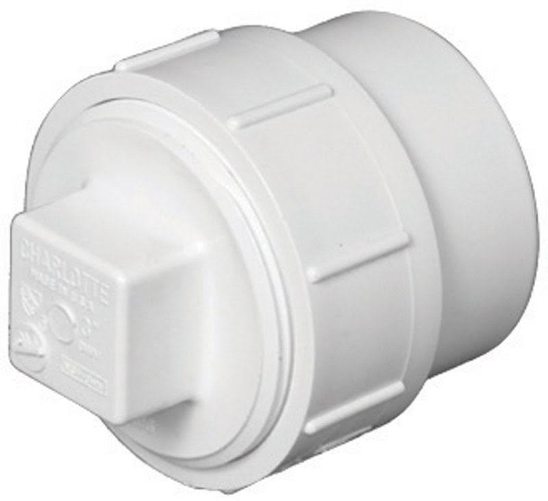 Charlotte Pipe Clean-Out Adapter PVC