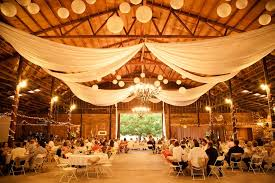 Paper Lantern Wedding Barn