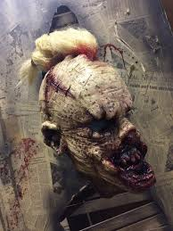 Scary Halloween Half Masks by Better Half Mask Pumpkin Pulp Shop Horror Halloween Custom