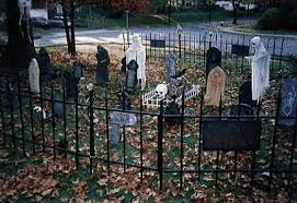 Halloween Cemetery Fence by Halloween Museum Page 6