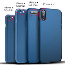 Ultra Thin Hard Case Cover For iPhone X 6 6S 7 8 iPhone8 Plus