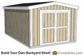 10x16 short shed plans 8 tall storage shed plans icreatables