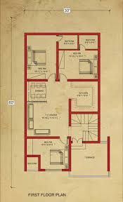 100 House Architecture Design Floor Plan 8 Marla Plan At Bahria Town Lahore
