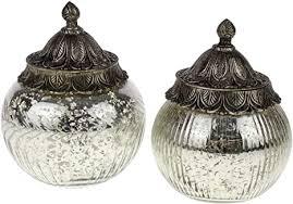 2 glasdosen mit metalldeckel 19cm glas weihnachten tischdeko