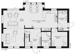maison ossature bois cle en catalogue plain pied scandinavia 11 maison ossature bois