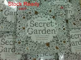 Jual Secret Garden Taman Rahasia Coloring Book For Adults