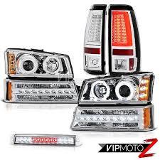 03 04 05 06 silverado lights 3rd brake light signal projector