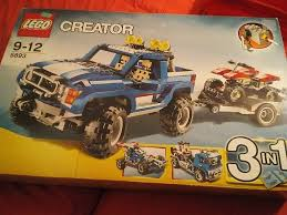 Lego Creator 3 In 1 4x4 Jeep With Trailer Or Truck Huge Set | In ... Lego 5765 Creator 3 In 1 Transport Truck 13 Youtube Introducing Urban Automotive Modifier Customiser And Creator Of Highway Pickup 7347 Boxtoyco Amazoncom Creator Cstruction Hauler 31005 Toys Games Lepin 21016 Whirl Wheel Super Funbricks Ideas Lego Dump How To Build Flatbed Truck 6910 Timelapse Airshow Aces 31060 Toysrus Set 30024 Bagged The Minifigure Store Legoism 5893 Offroad Power Review Blue Sporty Nirvana Hot Wheels Harry Bradley Designed This 1990 Chevrolet 454 Ss