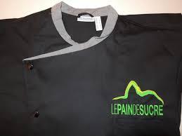 broderie veste de cuisine logo veste de cuisine