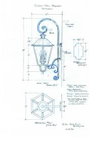 Custom Exterior Wall Mount Lantern 155
