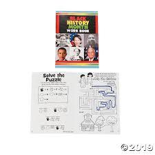 Black History Month Activity Books