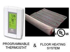 Easy Heat Warm Tiles Thermostat Programming by Warm Tiles Ebay