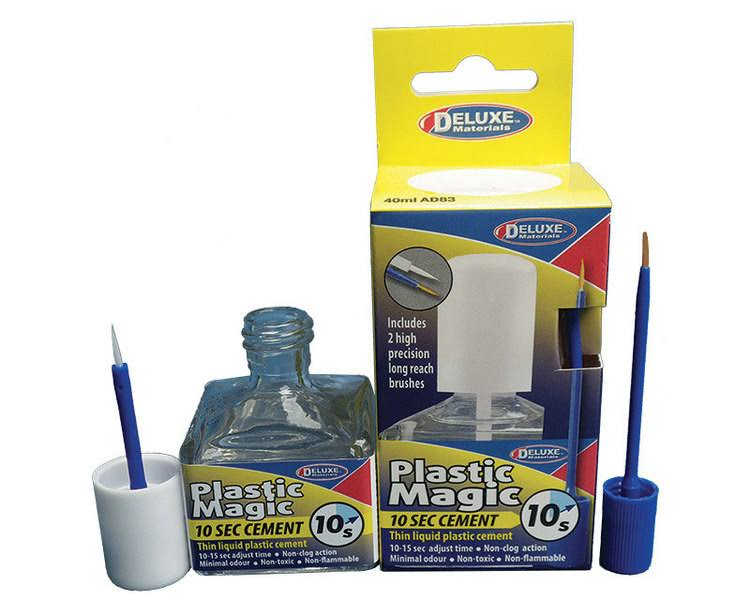 Deluxe Materials Plastic Magic 10 Second Cement (40ml)