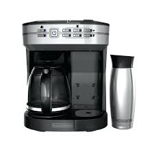 Coffee Maker With K Cup And Carafe Black Select Dual Brew Cuisinart Perfectemp 12
