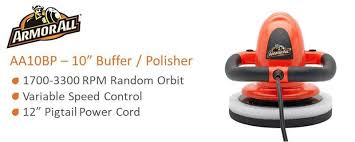 Floor Buffer Polishers Home Use by Armor All 10