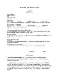 First Job Resume Examples Writing Sample For