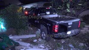 Driver Arrested For DUI After Crashing Truck Into Palm Tree, Street ...