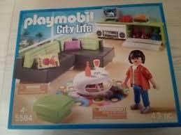 details zu playmobil 5584 wohnzimmer einrichtung neu