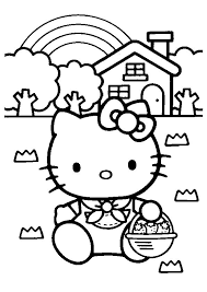 Hello Kitty Coloring Sheets Have Gained Immense Popularity As The Company Sanrio Moves To New