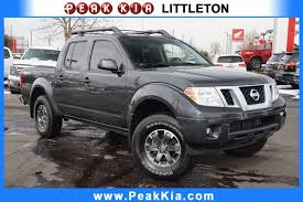 100 Nissan Trucks Used 2014 Frontier Pro4X Near Aurora CO Peak Kia Littleton