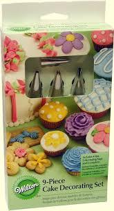 9 Pc Cake Decorating Set