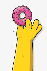Cartoon donut Hand painted Donuts Donuts Illustration Pink Donut Free PNG Image