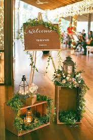 How To Use Wooden Crates Wedding Ideas At Rustic Weddings See More