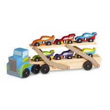 Melissa & Doug Mega Race-Car Carrier - Melissa & Doug - Toys