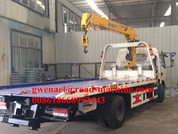 Roatation 360 ° Knuckle Boom Truck Mounted Cranes Peralatan 25000ton ...